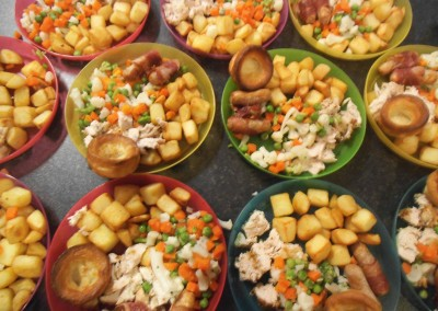 Christmas Dinner at Greatworth PreSchool Near Brackley
