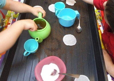 Tea Time at Greatworth PreSchool Near Brackley