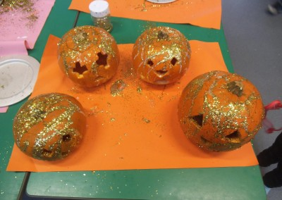 Decorated Pumpkins at Greatworth PreSchool Near Brackley 2