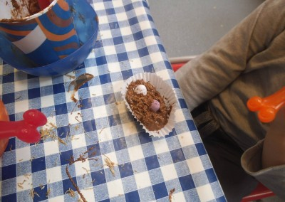 Easter Cakes Easter Craft at Greatworth PreSchool Near Brackley 2
