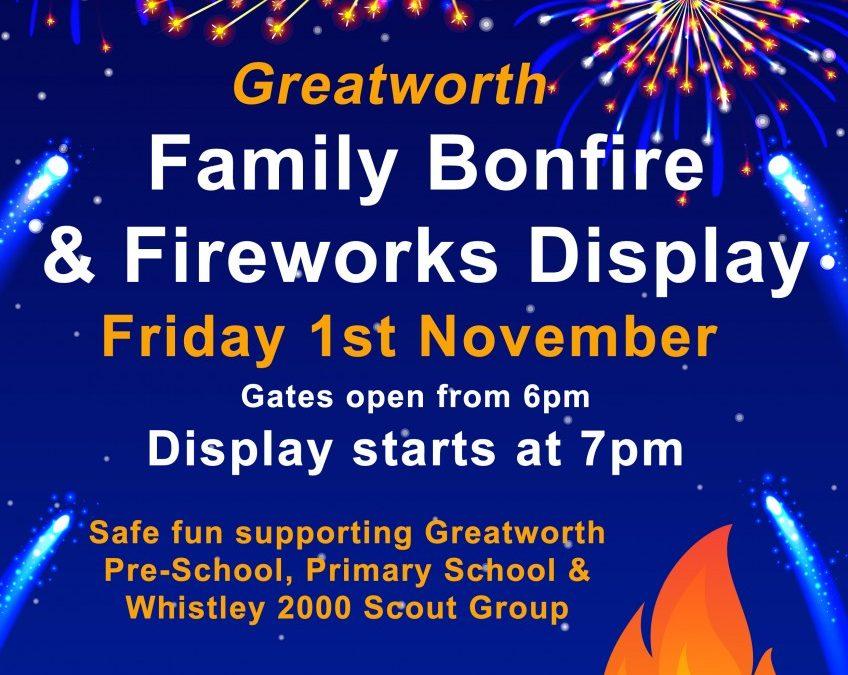 Fireworks & Bonfire Night